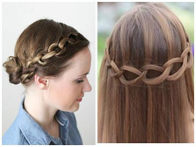 Las mejores variaciones de peinados para niñas faciles paso a paso Galería de cortes de pelo tutoriales - 2 bonitos Peinados cadena paso a paso - Paperblog