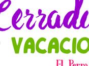 Carteles Cerrado Vacaciones 2015