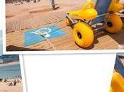 Playas accesibles Gijón Playa Poniente