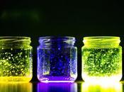 Tarros cristal luminiscentes