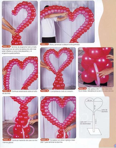 Decorando con globos paperblog - Decorando con fotos ...