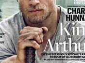 """knights round table: king arthur"": primer vistazo charlie hunnam desde portada entertainmente weekly"