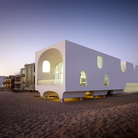 Diseño a pie de playa, seleccionamos 12 casa y ...