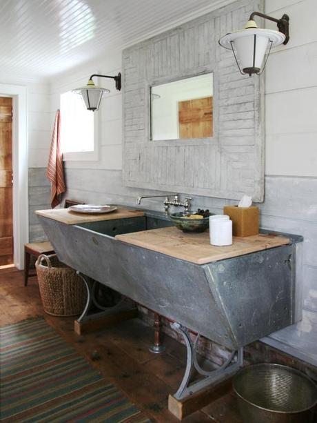 10 Muebles reciclados para baños  Paperblog