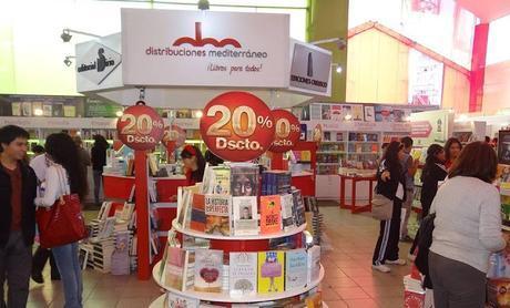 Días de feria (2): Novedades de Distribuciones Mediterráneo en la FIL Lima 2015