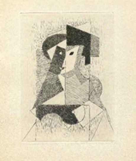 Jean Metzinger, 'Sin titulo'. Libro 'Du Cubisme'.