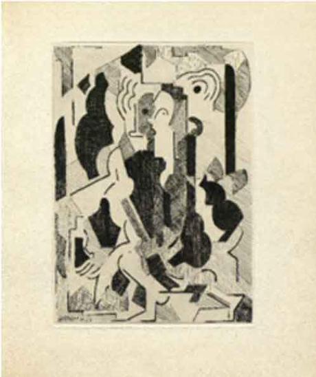 Albert Gleizes, 'Sin titulo'. Libro 'Du Cubisme'.