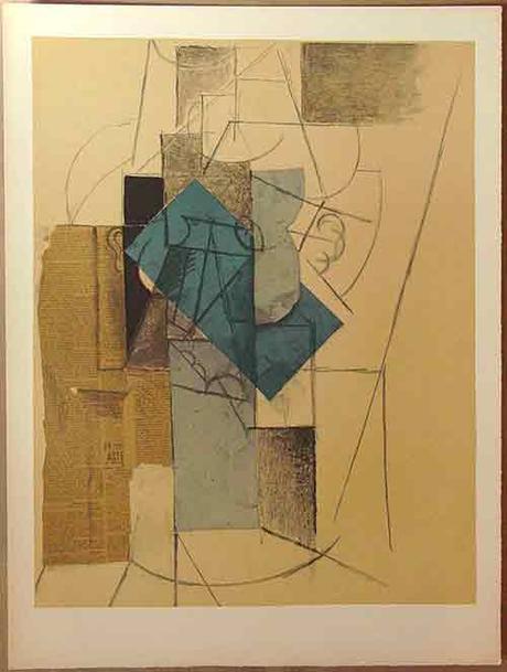 Pablo Picasso, 'L'homme au chapeau'.