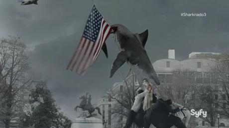 Los 7 puntazos más desternillantes de 'Sharknado 3′