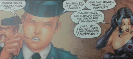 Los X-Men...contra la Benemérita!!(No,no es coña)