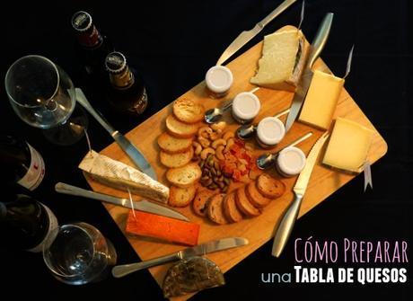 Cómo preparar una tabla de quesos y...¡Rumbo al Somontano!