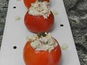 Tomates rellenos atún txaka