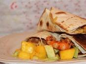 Tacos langostinos salsa mango aguacate ¡¡Felices vacaciones!!