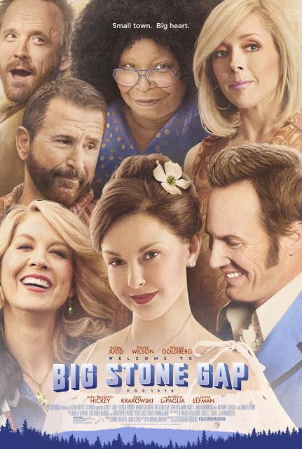 CARTEL PARA BIG STONE GAP, COMEDIA ROMANTICA CON ASHLEY JUDD, PATRICK WILSON Y WHOOPI GOLDBERG,
