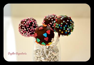 Cakepops de fresa