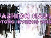 Fashion haul otoño invierno 2015