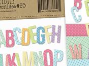 Viernes Freebies: unas lindas letras para proyecto Scrapbooking Digital. Descárgalas GRATIS!