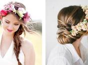 Seis peinados flores