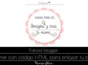 Banner código HTML para enlacen blog.
