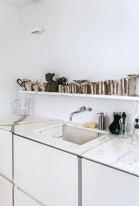 Encimeras y revestimientos en la cocina de m rmol paperblog - Encimera marmol cocina ...