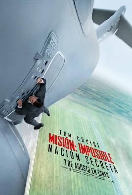 Misión imposible: Nación secreta. Una película de Christopher McQuarrie