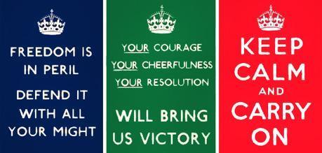 origen del keep calm poster