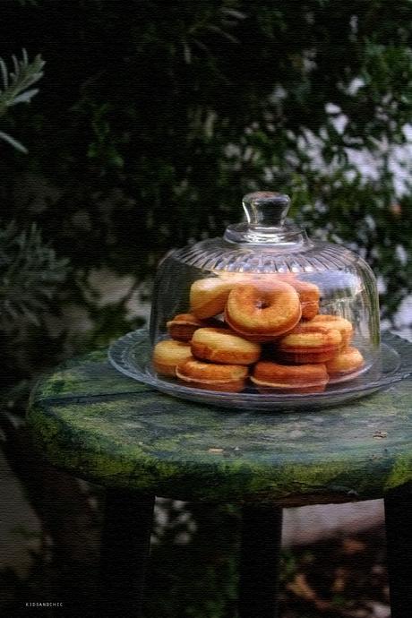 Mini donuts de zanahorias