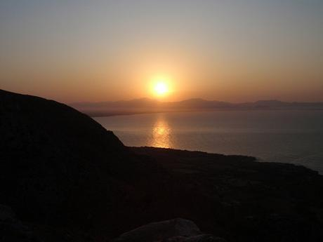 Des de Betlem, es pon el sol