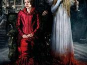 "cumbre escarlata"": wasikowska, jessica chastain hiddleston nuevo póster internacional"