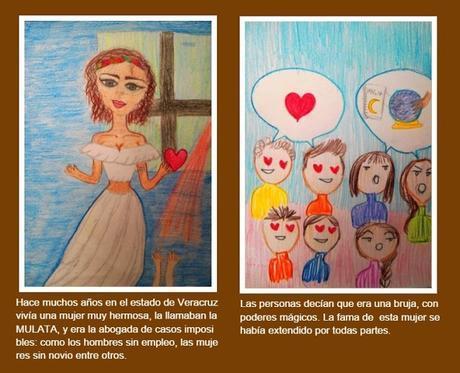Ilustrando una leyenda colonial mexicana