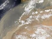 masa polvo sahariano invade península ibérica