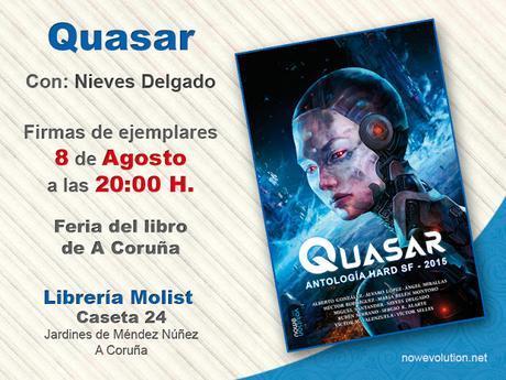 .: Quasar en la Feria del libro de A Coruña 2015 :.