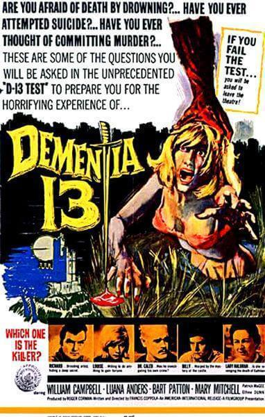 """Dementia 13″ (1963)"