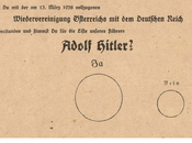 Anschluss anexión Austria