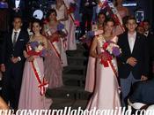 Coronación reina damas fiestas Alcalá Júcar 2015