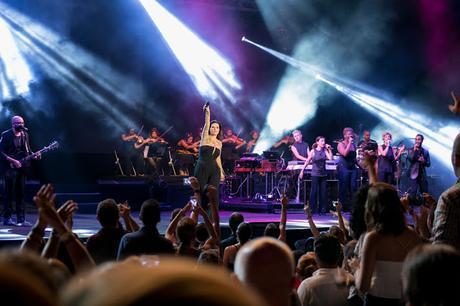 Laura Pausini triunfó en Starlite Festival Marbella, su único concierto en España
