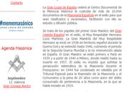 vueltas Gran Logia España (GLE). más…