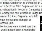 Alex Ferguson, fútbol masón