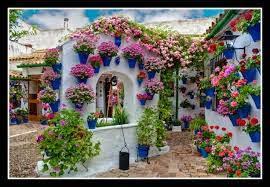 Córdoba, España-Las fiestas de mayo