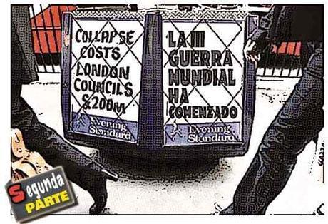 Newsstands cómic sobre Tercera Guerra Mundial