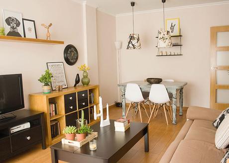 Hoy te invito a m sal n comedor paperblog - Como decorar mi salon comedor ...