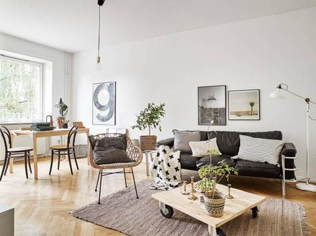 Inspiraci n deco decorar con estilo un piso de alquiler o for Decoracion nordica low cost