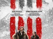 "Kurt russell jennifer jason leigh nuevo póster ""the hateful eight"", quentin tarantino"