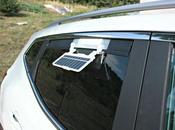 ventilador solar para mantener coche fresco verano