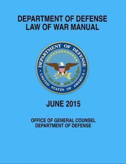 Manual del Derecho de la Guerra del Pentágono justifica crímenes de guerra y censura de prensa
