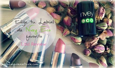Elige tu Labial de Nvey Eco favorito!!!