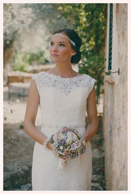VINTAGE WEDDING IN MALLORCA - LA BODA DE D&H