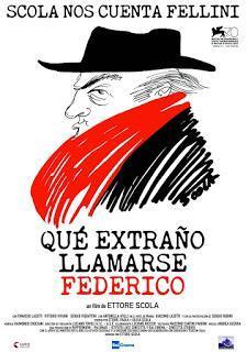 Póster: Qué extraño llamarse Federico (2013)