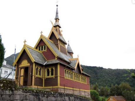 Iglesia de Olaf, Balestrand
