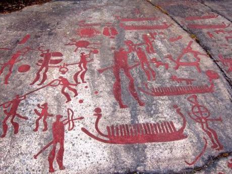 Petroglifos de Tanumshede